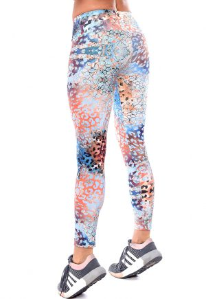 LF Legging Blue Cheetah