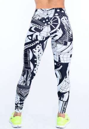LF Legging B&W
