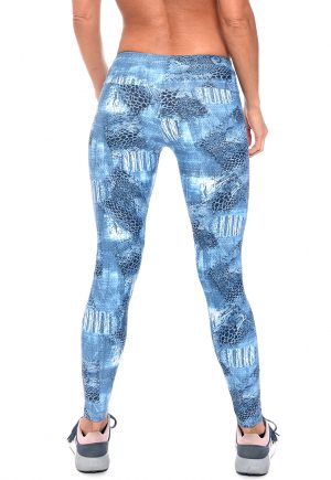 LF Legging Denim Snake