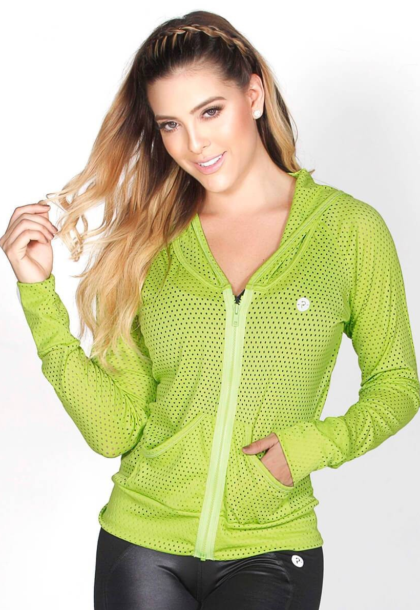 Protokolo Green Mesh Jacket