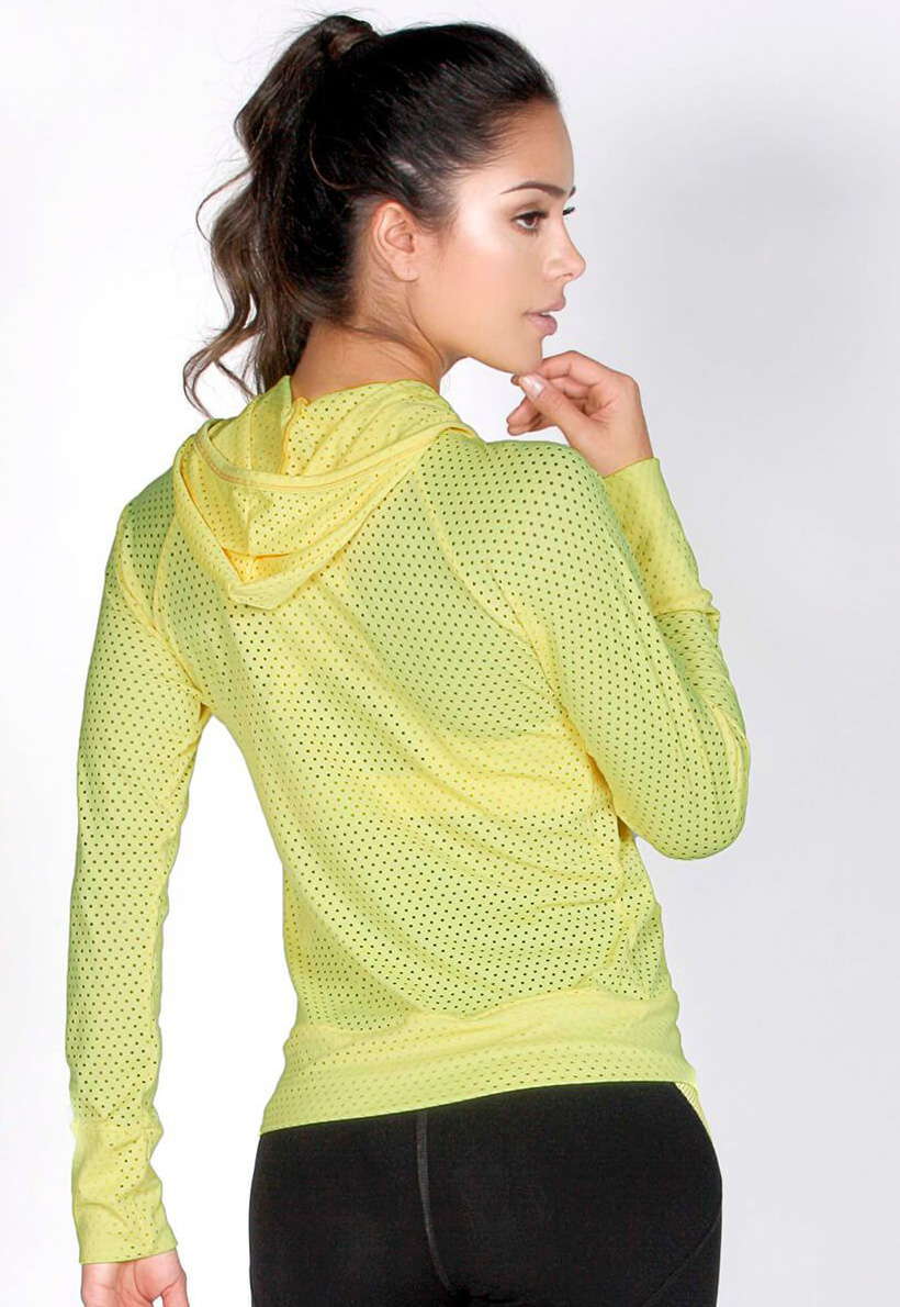 Protokolo Lemon Mesh Jacket