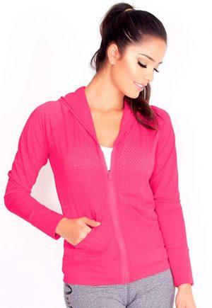 Protokolo Pink Mesh Jacket