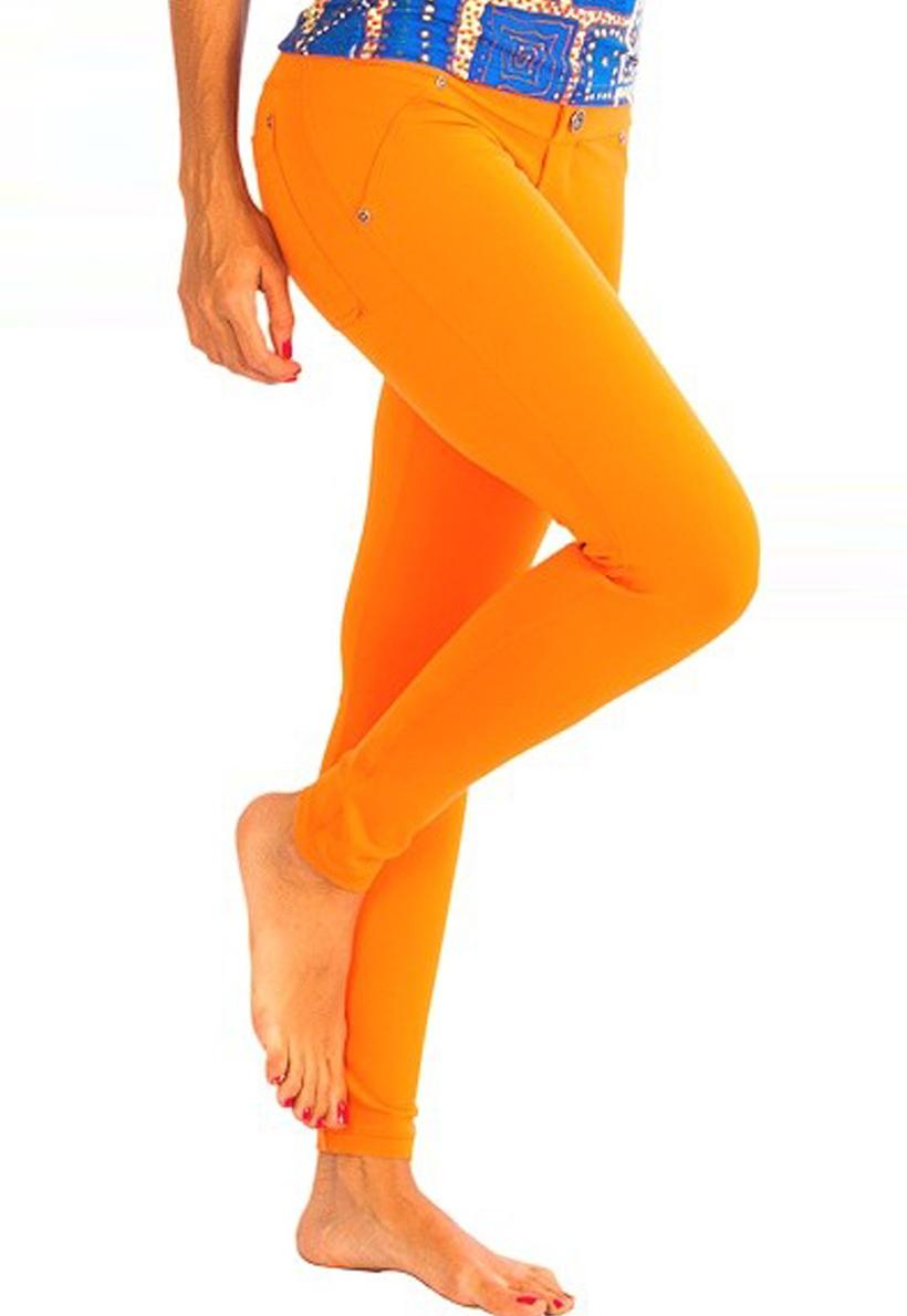 Protokolo Orange Jean Legging