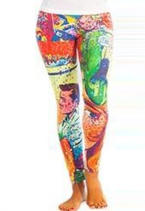 Protokolo Comic Strip Legging