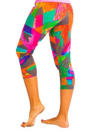 Protokolo Multi Colored Legging