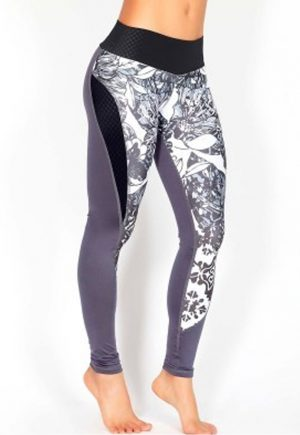 Protokolo Moroccan Gray Leggings