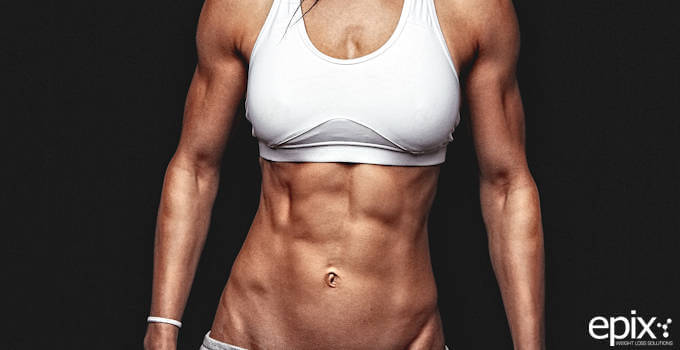 Fit Woman With Six Pack Abs Be Fit Apparel The abs are used as stabilizer muscles in almost every resistance type exercise. fit woman with six pack abs be fit