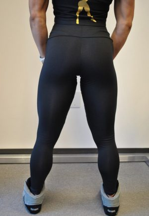 "High Performance ""Be Fit Physique"" Legging"