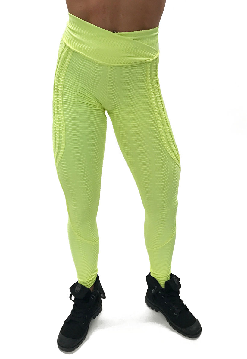 bb4caf686b4 Be Fit Neon Yellow Butt Lifting Pants - Be Fit Apparel