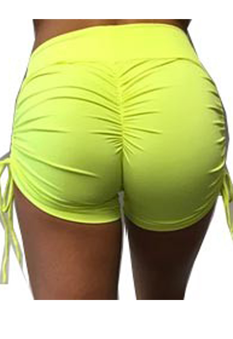 6bb9fcfb67c Be Fit Neon Yellow Scrunch Butt Shorts - Be Fit Apparel